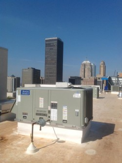 An Oklahoma City commercial HVAC unit