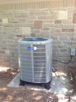 An Oklahoma City residential HVAC unit